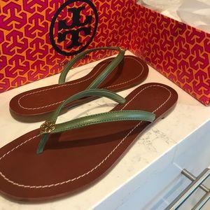 Tory Burch Terra Thong Sandal W size 10 flip flop
